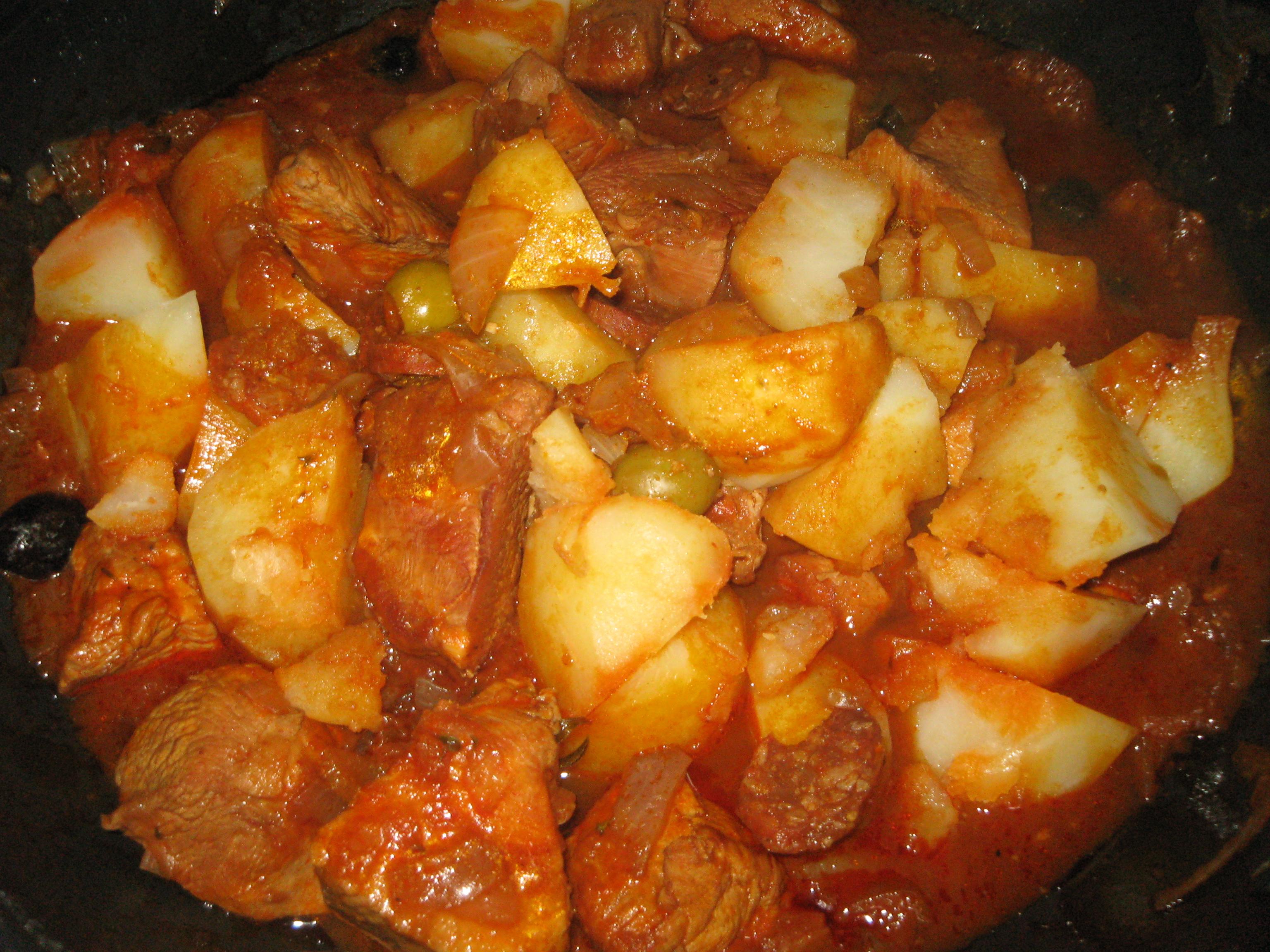 La cuisine de josy saut de dinde la portugaise - Recette de cuisine portugaise avec photo ...