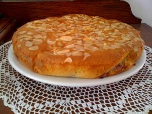 Gâteau amandes & framboises