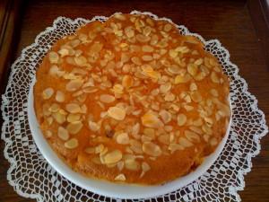 Gâteau amandes & framboises1