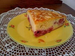 Gâteau amandes & framboises4